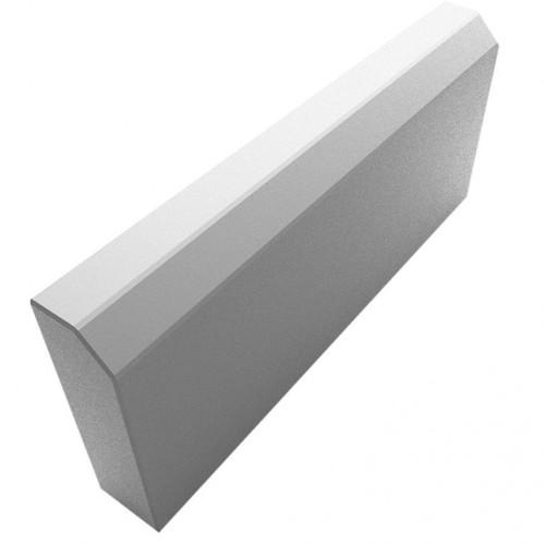 Бордюр литье серый тонкий  50х20х3