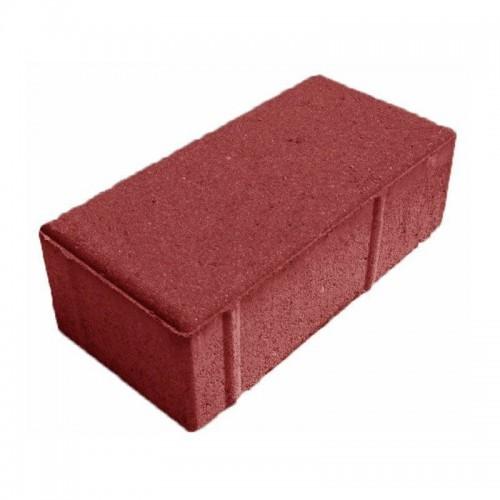 Брусчатка пресс красная 200х100х60