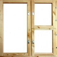 Блоки оконные деревянные