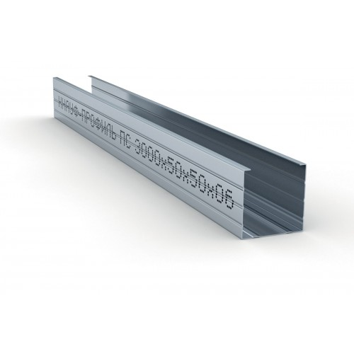 Профиль стоечный Knauf 50х50 мм 3 м 0.60 мм