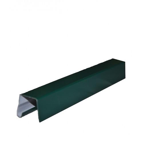 Планка заборная 0.5х2м цветная