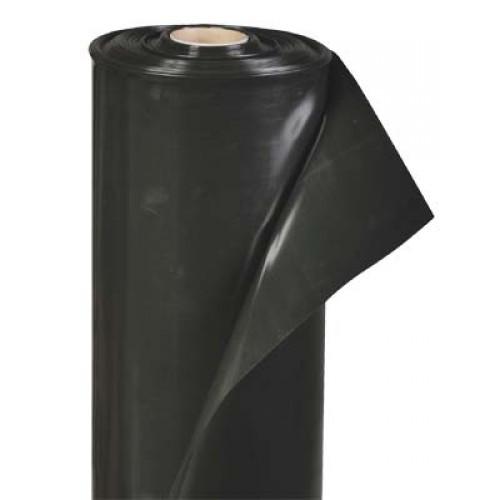 Пленка черная Эконом 80 мк 1.5 м рукав
