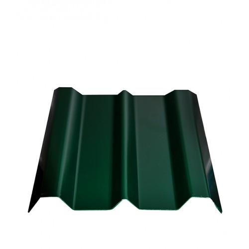Евроштакетник зеленый толщина 12 мм  длина от  1000 мм на заказ